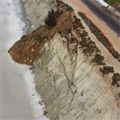4th street bluff collapse
