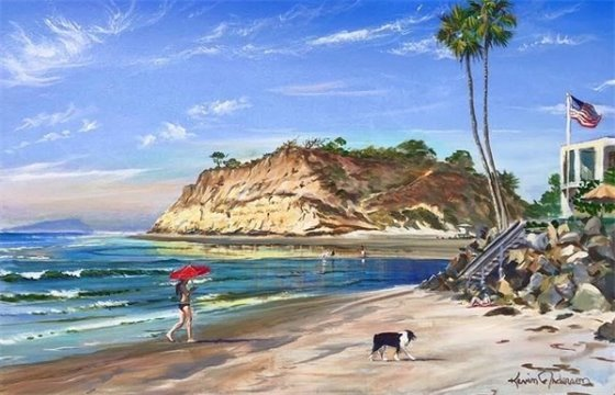 River Mouth painting by Kevin Anderson