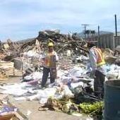 debris yard