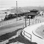 Historic photo of Del Mar train station