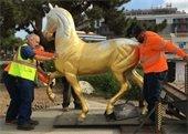 Gold Coast horse statue