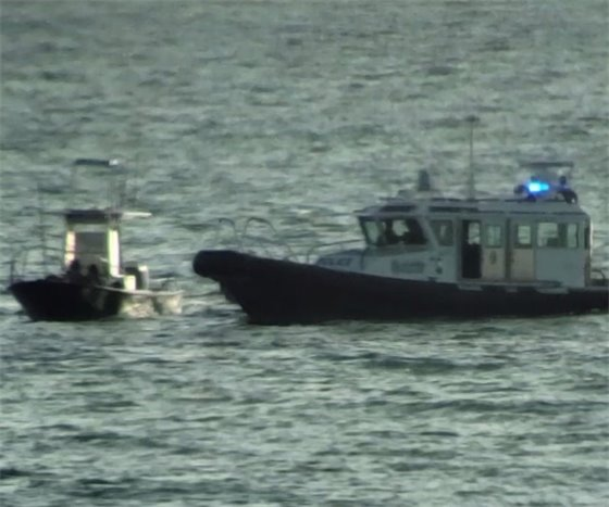 harbor police arrest of boaters off of Del Mar
