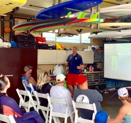 lifeguard presentation on shark safety