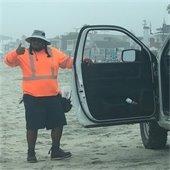 Del Mar beach maintenance