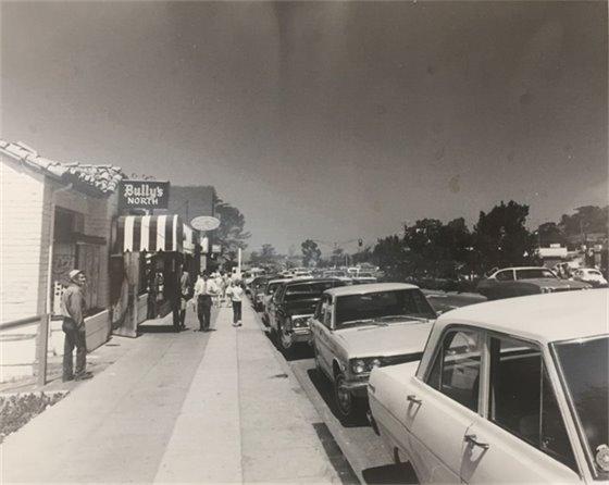 Bully's restaurant in 1974
