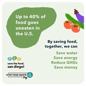 Stop Food Waste Day promo