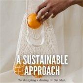 Sustainable shopping promo