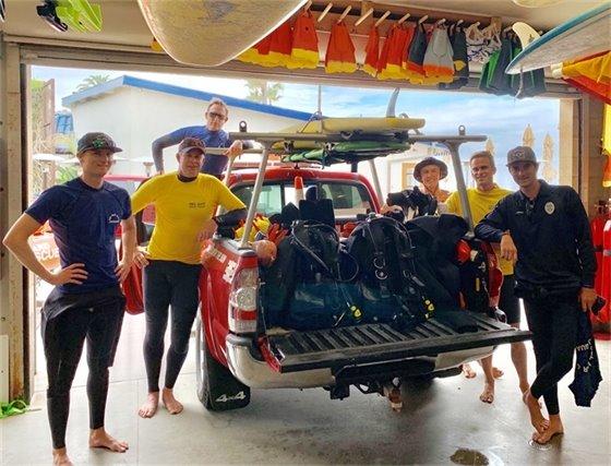 lifeguard dive team