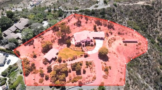 outer zone defensible space
