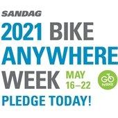 bike anywhere pledge week graphic