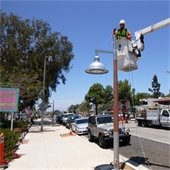 1200 block streetlight