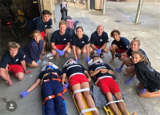 lifeguards medical training