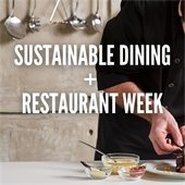 Sustainable dining promo
