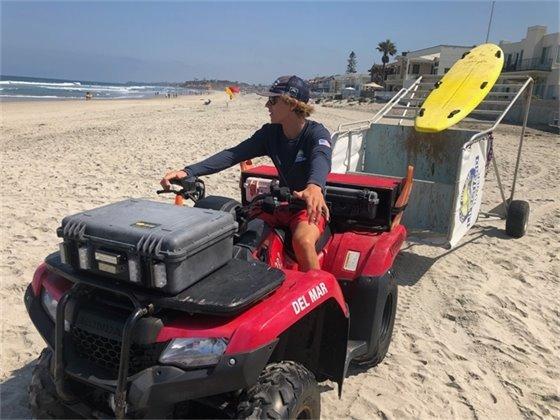 lifeguard tows portable tower