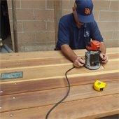 refurbishing picnic table