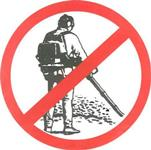 Leaf Blower Use Prohibited