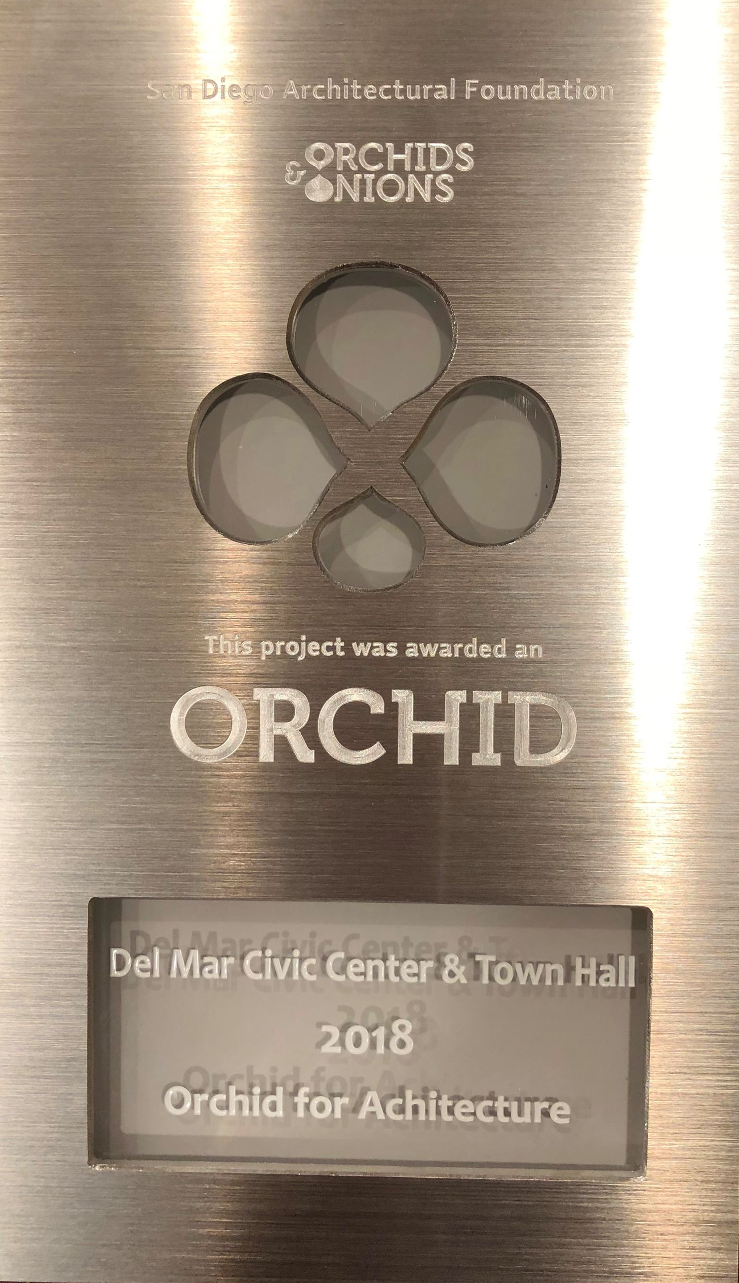 OrchidAward