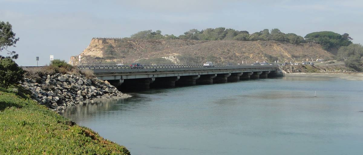 Camino del Mar Bridge photo