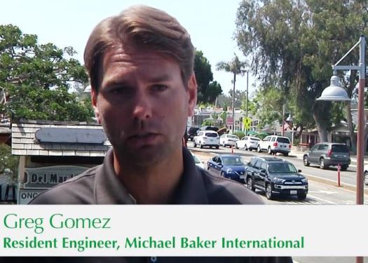 Greg Gomez in Streetscape video