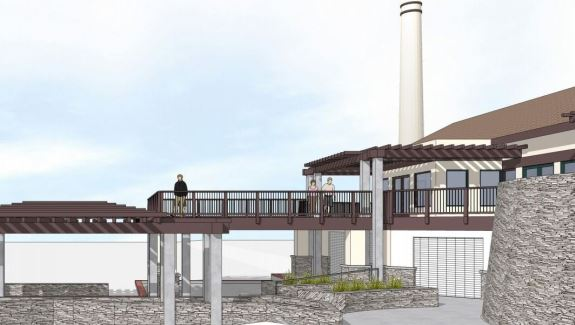 Powerhouse Deck Expansion rendering