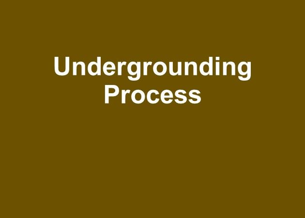 Learn how the undergrounding process works