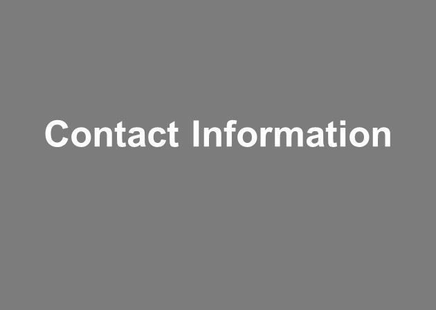 View project contact information for utility undergrounding