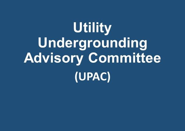 Read about the Utility Undergrounding Advisory Committee