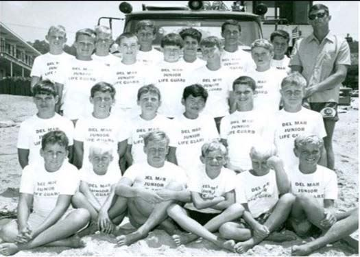 Photo of Junior lifeguards from 1966
