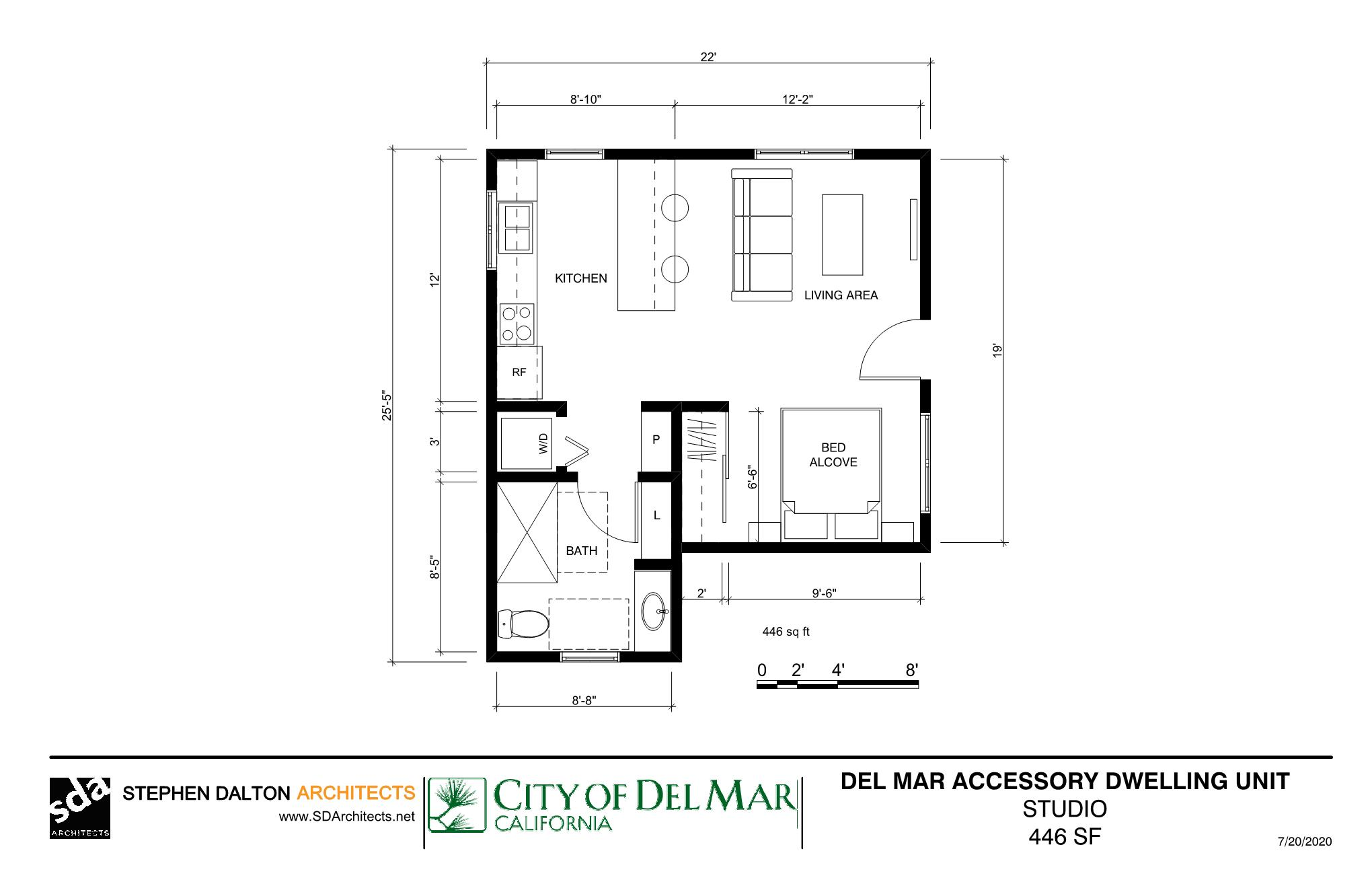 Accessory Dwelling Units Adus 3d Models And Floor Plans For Public Use Del Mar Ca Official Website