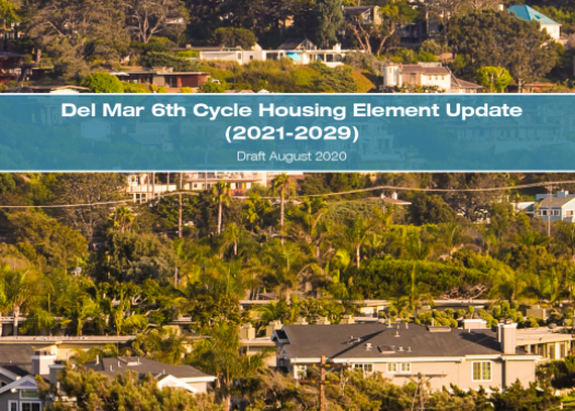 Cover page of Housing Element Update