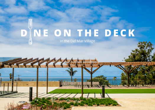Dine on the Deck graphic