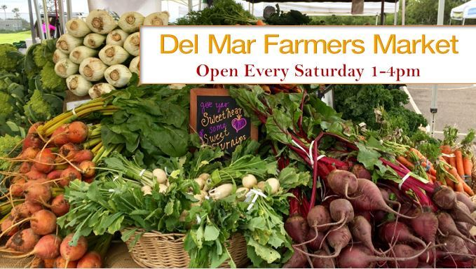 Del Mar Farmers Market produce