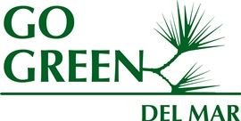 Go Green Del Mar logo