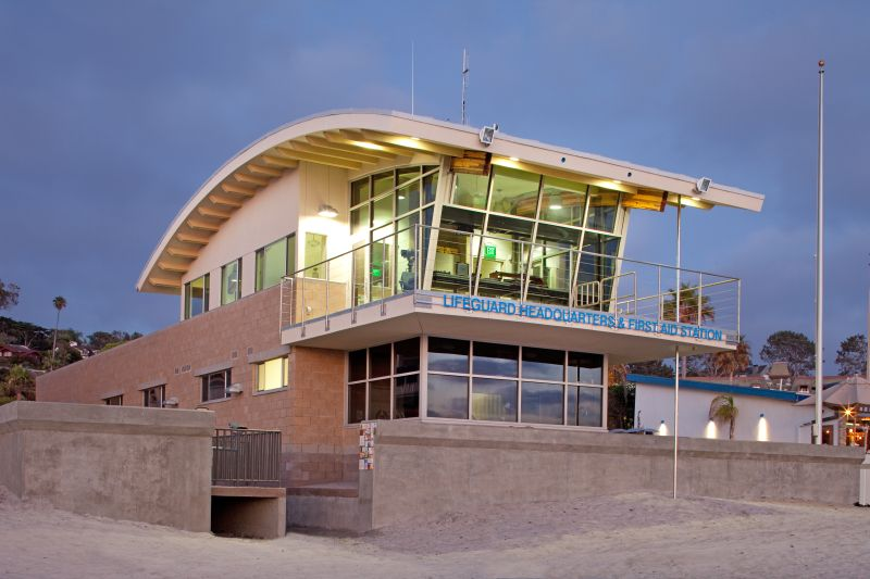 Beach Safety Center Front